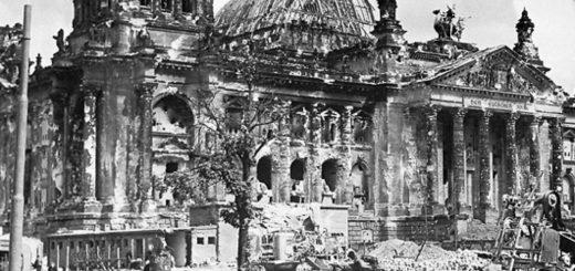 Berlin, le Reichstag en 1945