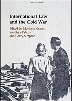 Couverture de International Law and the Cold War, 2019